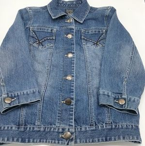 Chico's Women's Jean Jacket